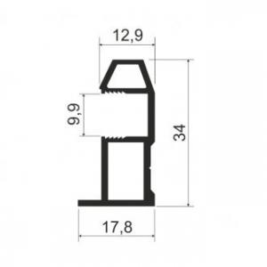 MS 161 Профиль вертикальный