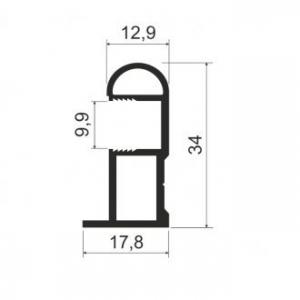 MS 162 Профиль вертикальный